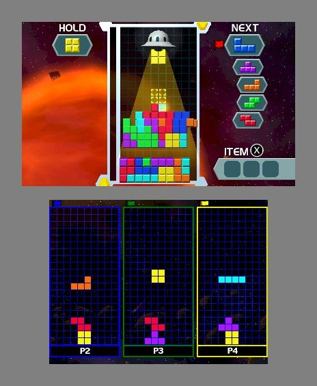 Tetris: Axis Brings Gravity-Based Block Puzzles To 3DS