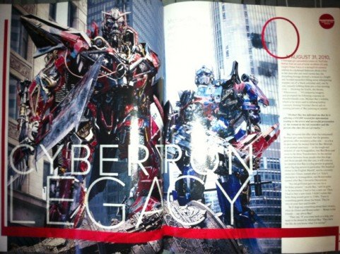 New Transformers: Dark of the Moon Images Reveal Sentinel Prime