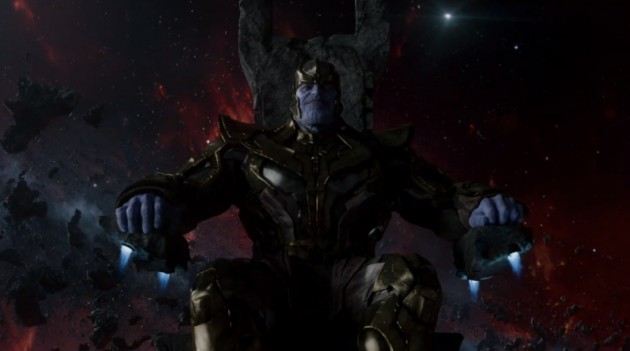 First Official Image Of Josh Brolin's Thanos From Guardians Of The Galaxy
