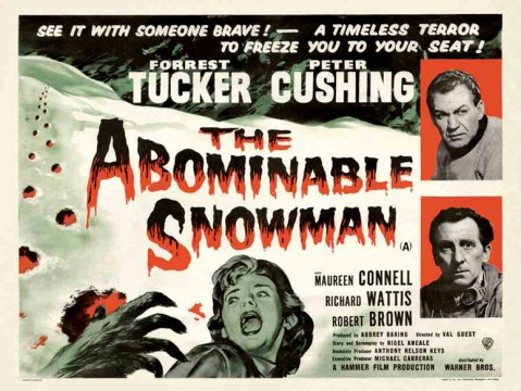 The Abominable Snowman Will Walk Again At Hammer Studios