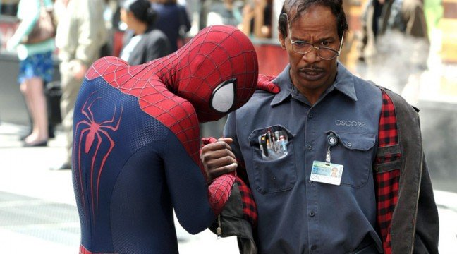 Peter Parker Goes Green In The Amazing Spider-Man 2 Featurettes