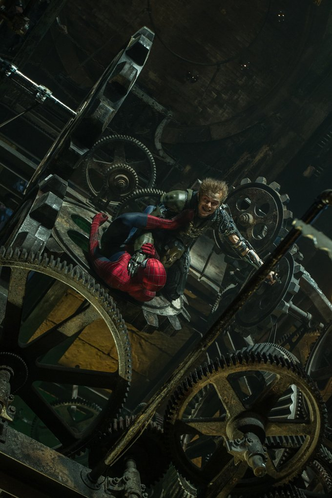 First Look At Dane DeHaan As The Green Goblin In The Amazing Spider-Man 2