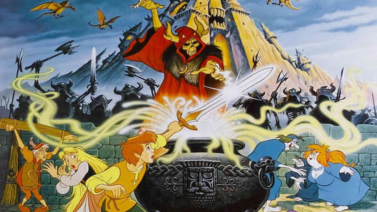 the black cauldron original 528 poster Top 10 Disney Worlds Kingdom Hearts Should Visit