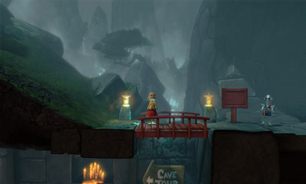 The Cave's Launch Trailer Gives The Talking Cave The Last Word