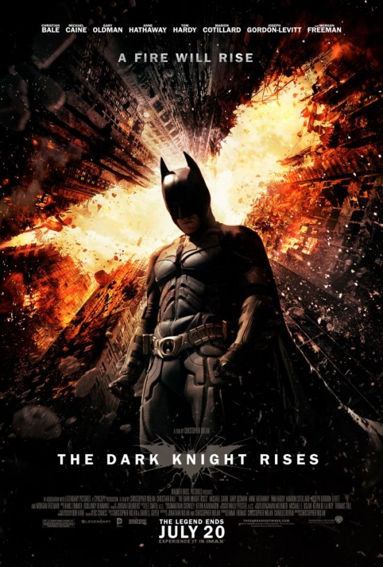 Explosive New Poster For The Dark Knight Rises