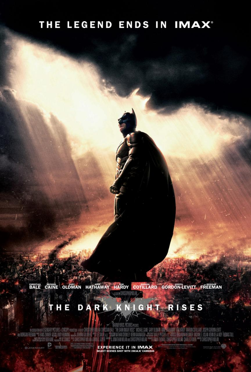 The Dark Knight Rises Has A New IMAX Poster