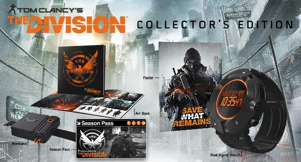 Ubisoft Details The Division's Season Pass, $160 Collector's Edition