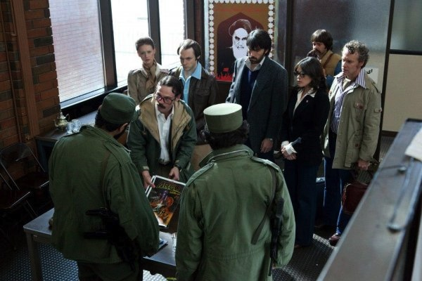 the excapees talk golden turkeys with the revolutionary guards 20 Great Movie Moments From 2012