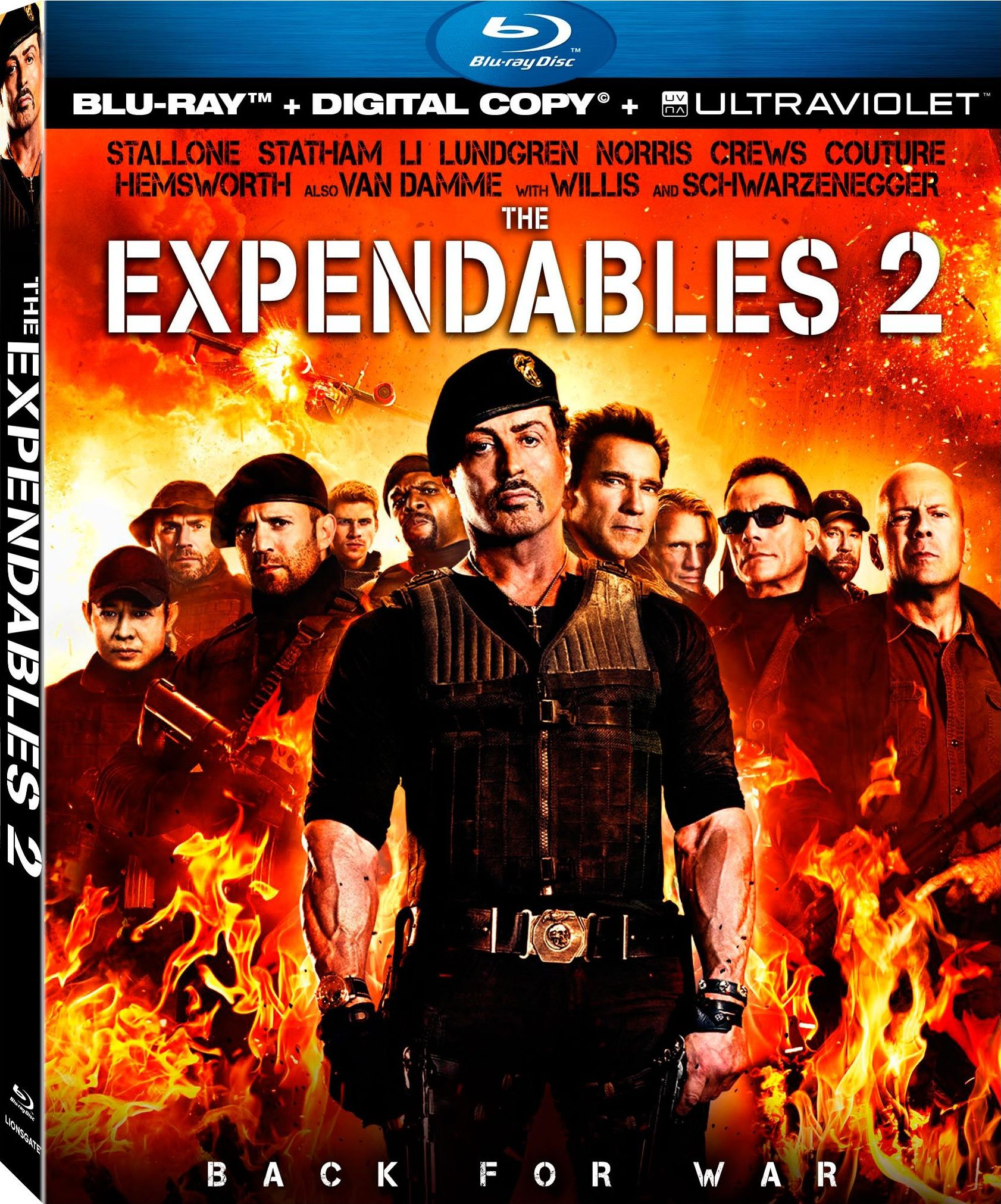 The Expendables 2 Blu-Ray Review