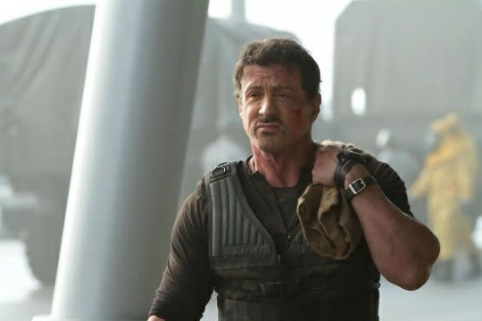 Sylvester Stallone Talks The Expendabelles
