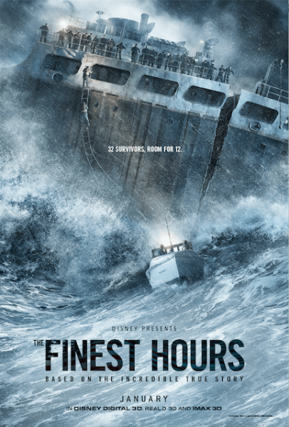 Brave Men Battle The Elements In The Finest Hours Trailer