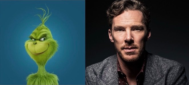 Benedict Cumberbatch Cast As The Grinch Himself In Upcoming Animated Film