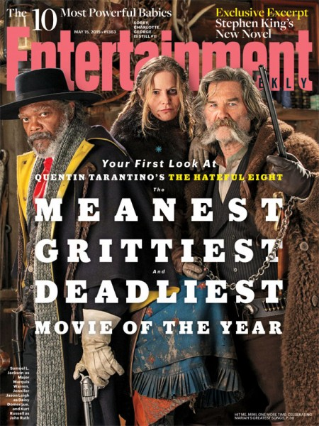 The Hateful Eight Revealed On New EW Cover