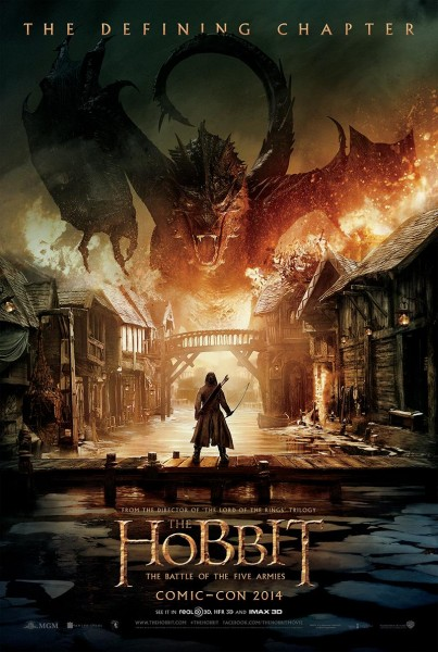The Hobbit: The Battle Of The Five Armies Breathes Fire In New Poster