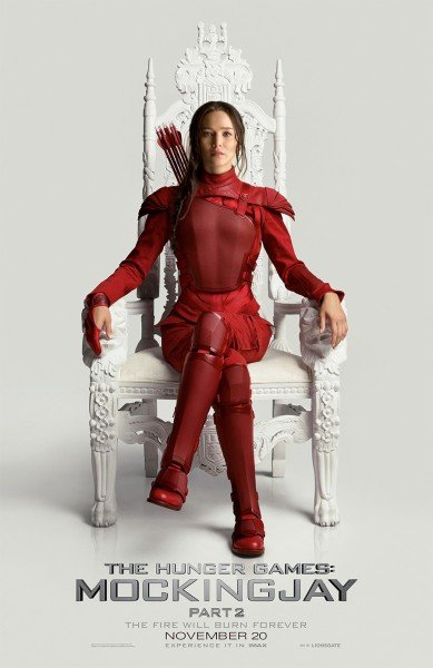 Katniss Is Queen In Evocative Poster For The Hunger Games: Mockingjay - Part 2