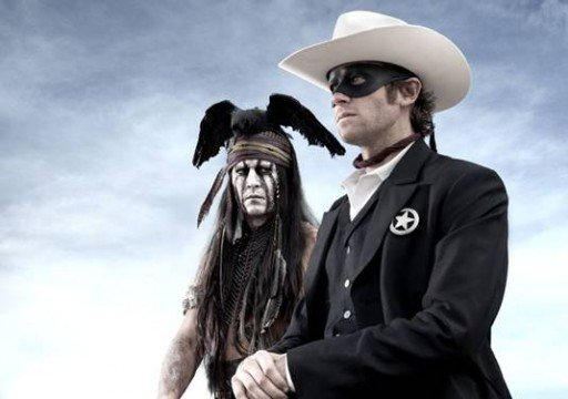 The Lone Ranger Trailer Premieres, Starring Johnny Depp And Trains