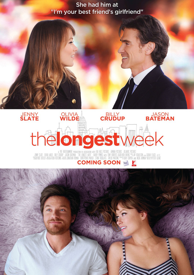Jason Bateman And Billy Crudup Fight Over Olivia Wilde In The Longest Week Trailer