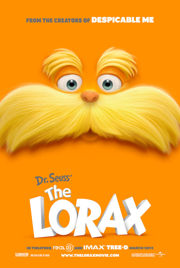 The Lorax Poster Wastes Orange Ink