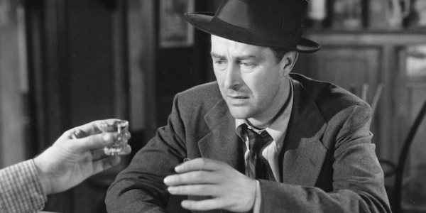Ray Milland in The Lost Weekend, 1945.