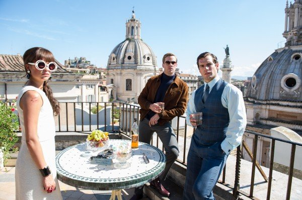 First Look At Guy Ritchie's Cold War Spy Flick The Man From U.N.C.L.E.