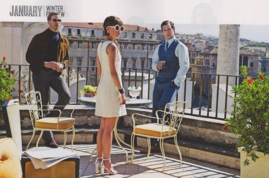 Henry Cavill Is A Suave Secret Agent In First Official Photos From The Man From U.N.C.L.E.