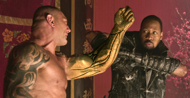 the man with the iron fists1 The Man With The Iron Fists Blu Ray Review
