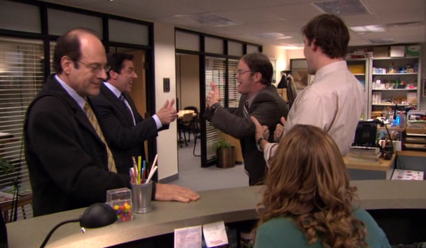 the office aayy The Office: Top 10 Cold Opens