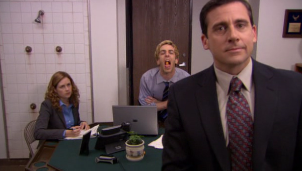 the office cheese puffs The Office: Top 10 Cold Opens