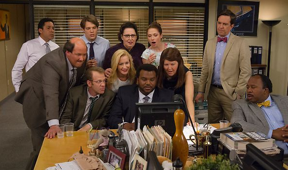 the office finale gang
