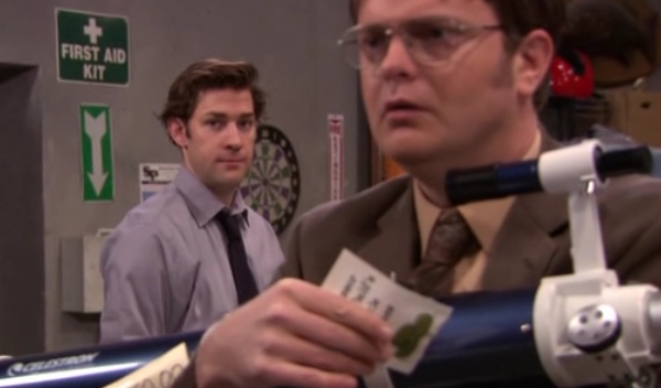 the office legumes The Office: Top 10 Jim And Dwight Pranks