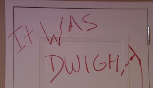 the office murder The Office: Top 10 Jim And Dwight Pranks