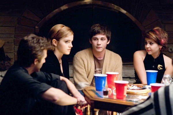 the perks of being a wallflower movie image emma watson logan lerman 032 The Perks Of Being A Wallflower Review