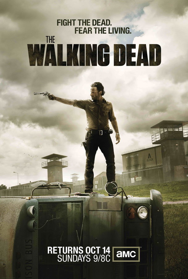 Rick Grimes Takes Aim In The First Official Poster For The Walking Dead Season 3