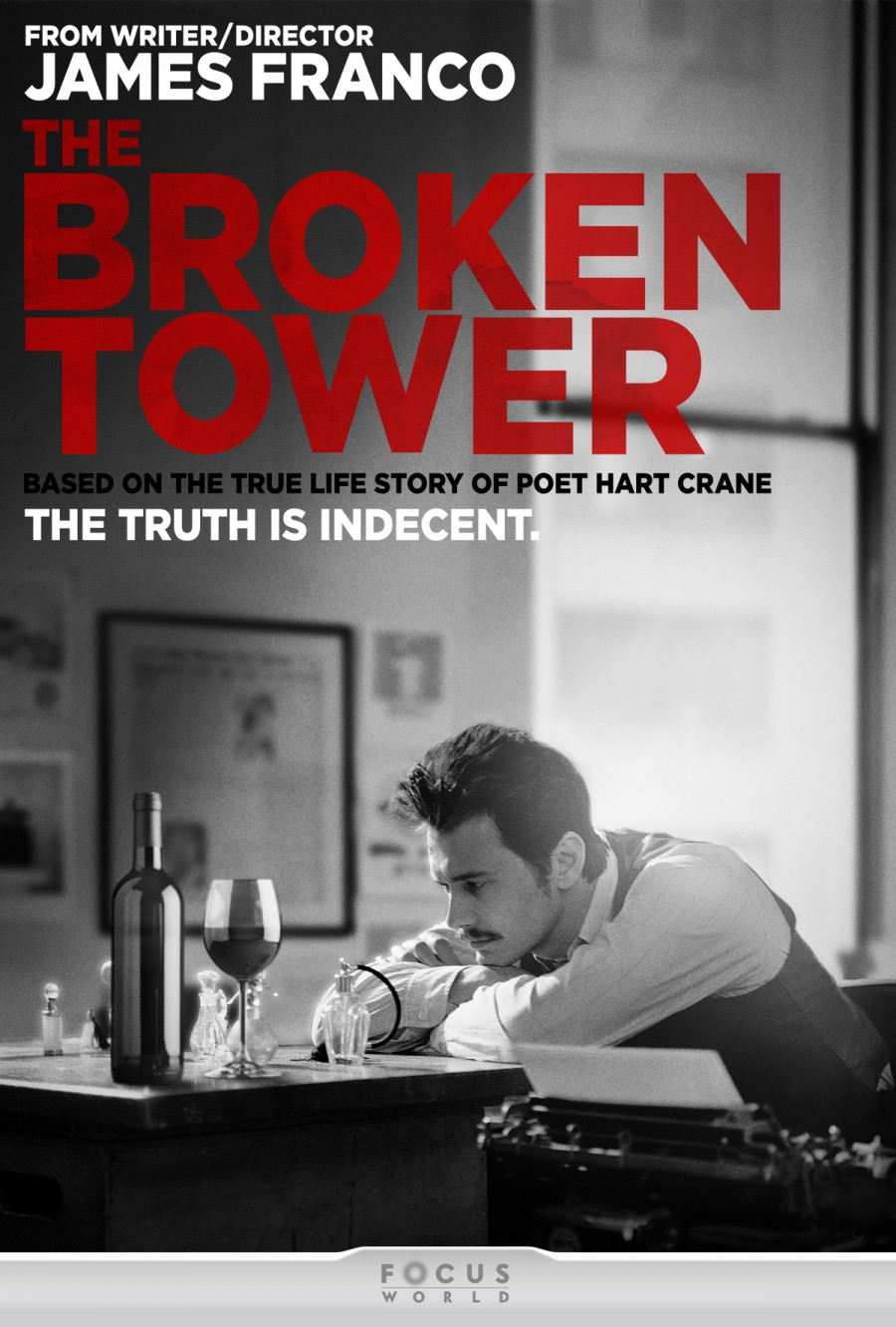 Trailer, Poster And Synopsis For James Franco's The Broken Tower