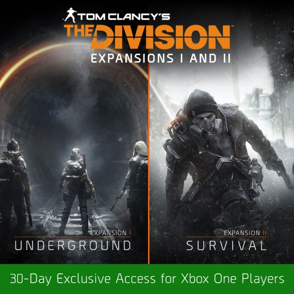 First Two DLC Packs For The Division Will Launch First For Xbox One