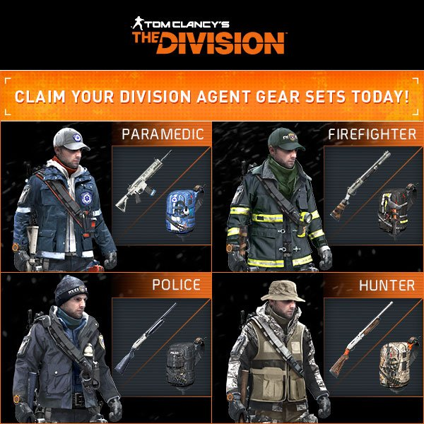Ubisoft Already Offering Free Gear For The Division In North America