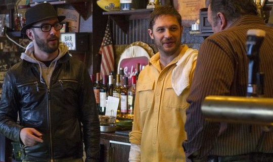 the drop 3 540x321 First Images Of James Gandolfini And Tom Hardy In The Drop