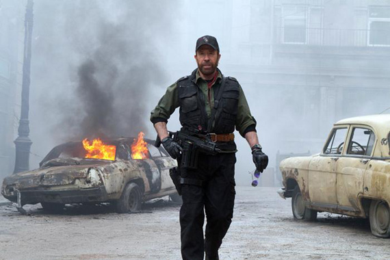 No Chuck Norris For The Expendables 3