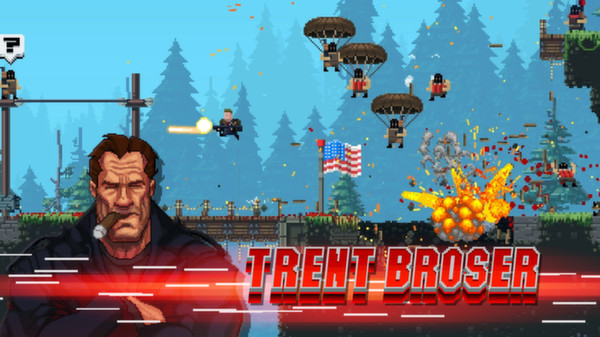 The Expendabros Combines Broforce With The Expendables 3