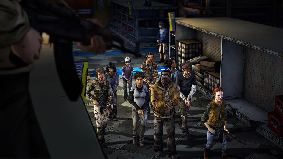 First Screens For The Walking Dead: Season Two - Episode 3 Released