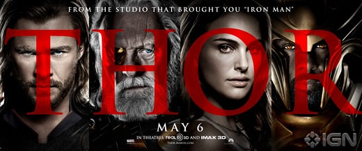 Two New Thor Posters