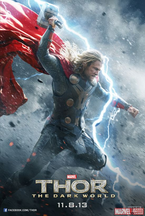 Thor And Loki Get Posters For Thor: The Dark World