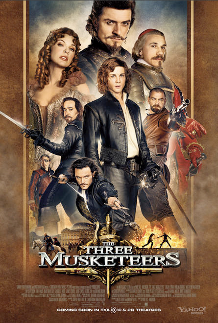 New Movie Poster For The Three Musketeers