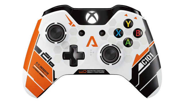 titanfall limited edition xbox one controller