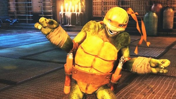 TMNT: Out Of The Shadows Supports Michelangelo's Breakdance Fighting