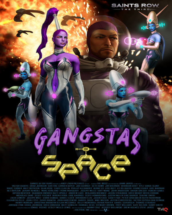 Saints Row: The Third - Gangstas In Space DLC Review