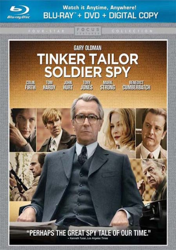Tinker Tailor Soldier Spy Blu-Ray Review