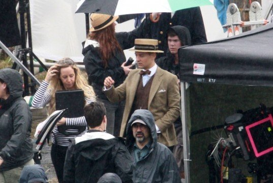 New Photos From The Set Of The Great Gatsby