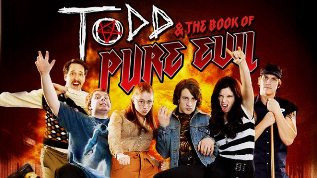 Help Save Todd & The Book Of Pure Evil Through Indiegogo!