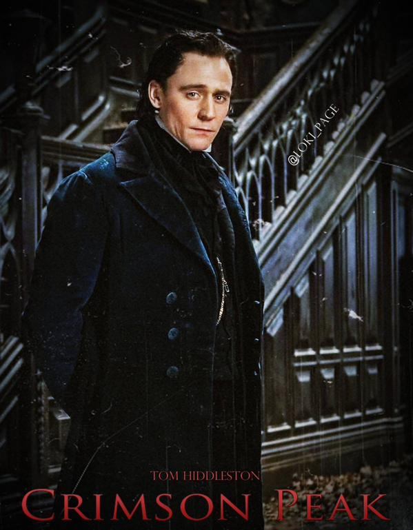 Get A First Glimpse At Tom Hiddleston And Mia Wasikowska In Crimson Peak
